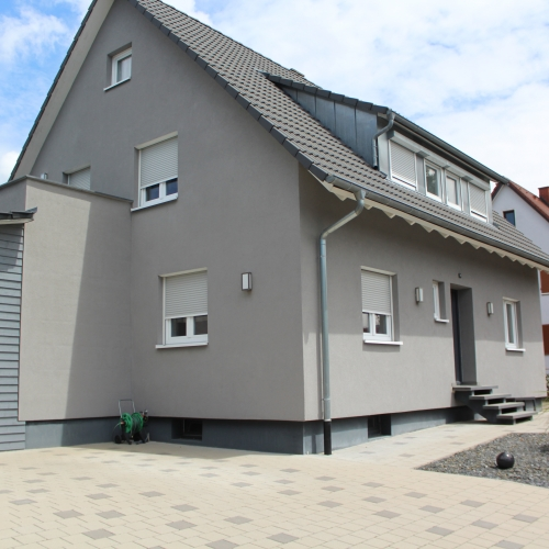 Außenleuchten Außenanlage Außenlampe Lampe Gundelfingen Sanierung Elektrotechnik Brinkmann Mikosch Freiburg
