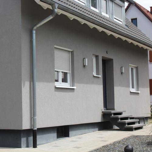 Außenlampe Außenleuchte Außenanlage Wandlampen Gartenbereich Gundelfingen Sanierung Elektrotechnik Brinkmann Mikosch Freiburg