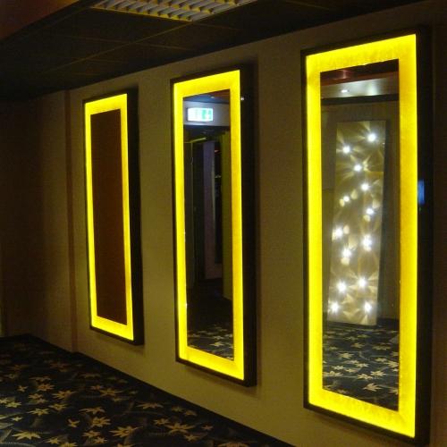 Spiegellicht Leuchten indirekte Beleuchtung Brinkmann Mikosch Elektrotechnik Lichttechnik Gundelfingen Megapark Casino Freiburg