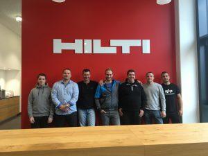 Firmenausflug mit Werksbesichtigung bei HILTI - wir kommen gerne wieder