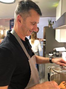 Zander Kochevent - der Chef kocht persönlich!